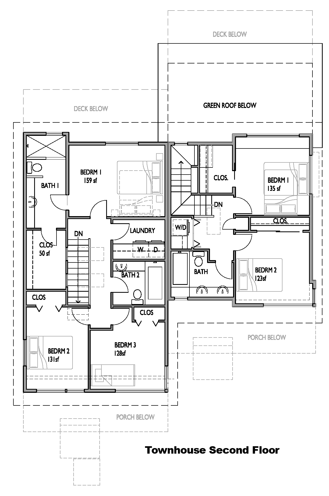 Layout. main floor second floor