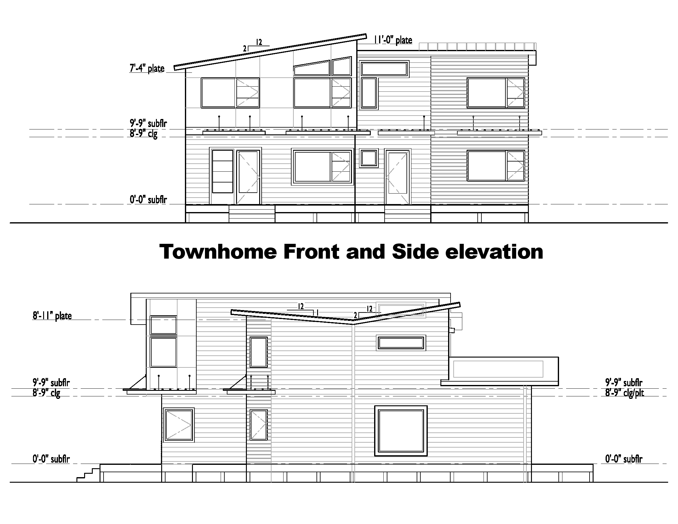 plans and elevations of houses descargas mundiales com