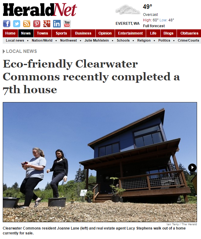 picture of everett herald article